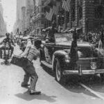 Ticker tape parade General Jonathan Wainwright, September 13, 1945