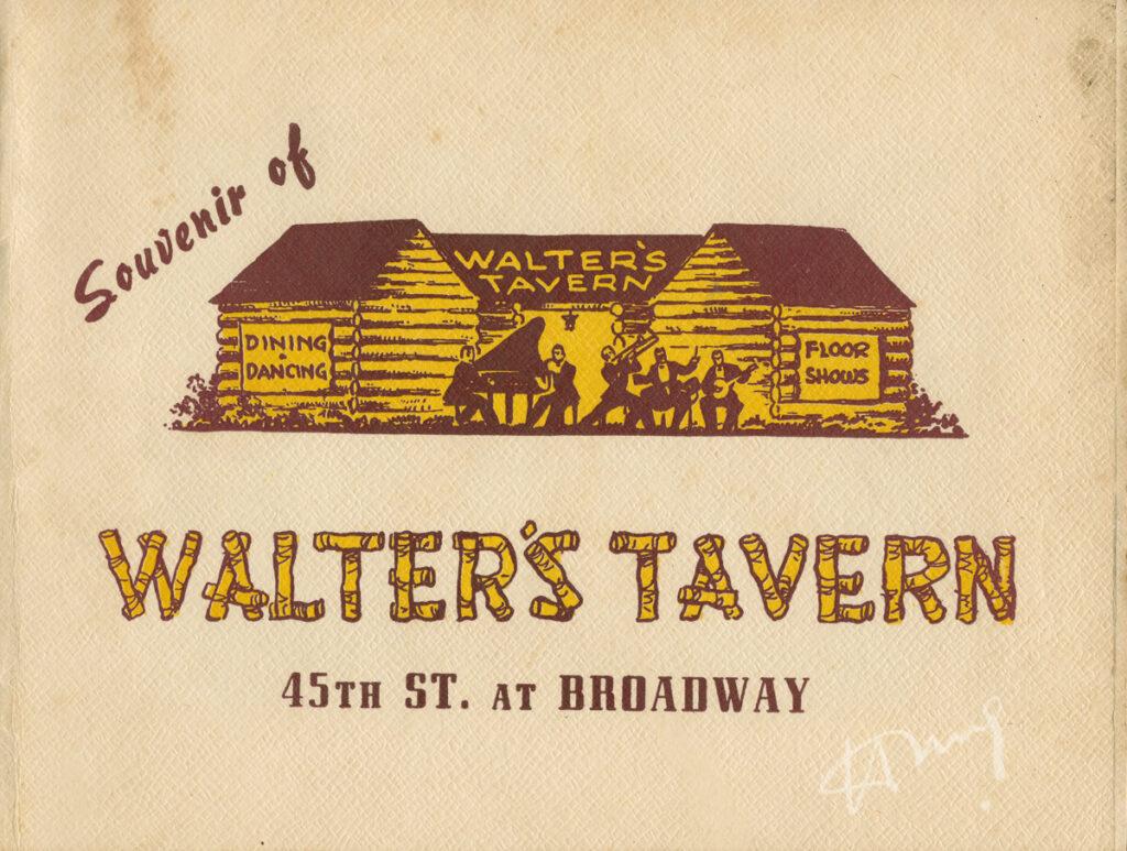 Walter's Tavern sleeve