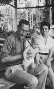 Mary and Hugo Wilmar with their daughter Diana