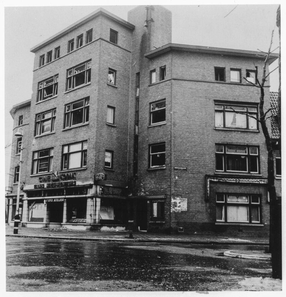 Photo dealer Nieuwenhuis at the Van Hoytemaplein in The Hague