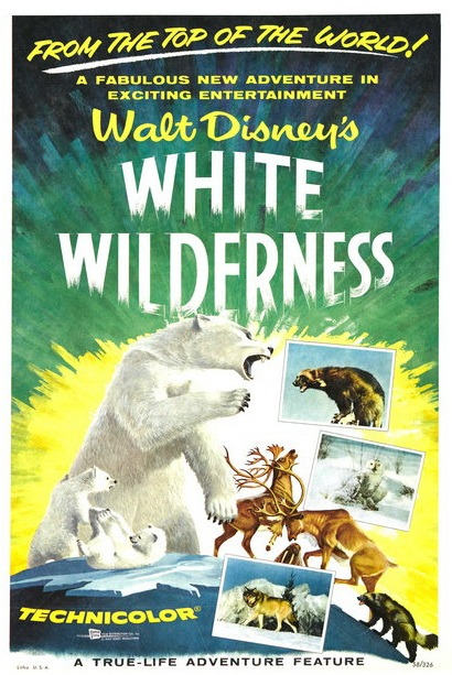 Filmposter White Wilderness films